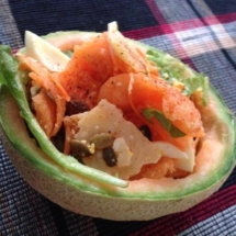 insalata nel melone